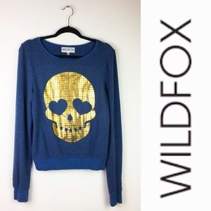 WildFox Skull Sweatshirt